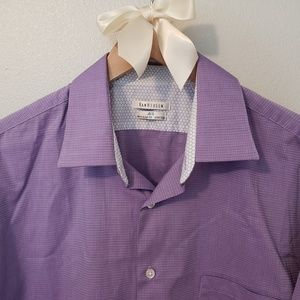 Van Heusen Purple Dress Shirt
